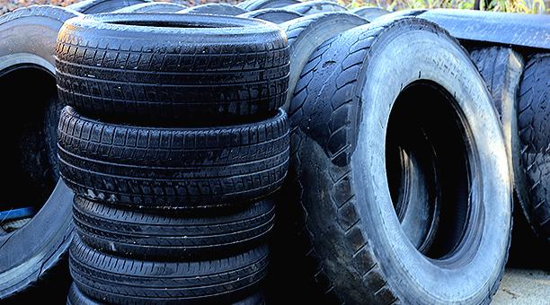廃タイヤ回収について