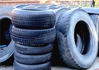 廃タイヤのリサイクルについて